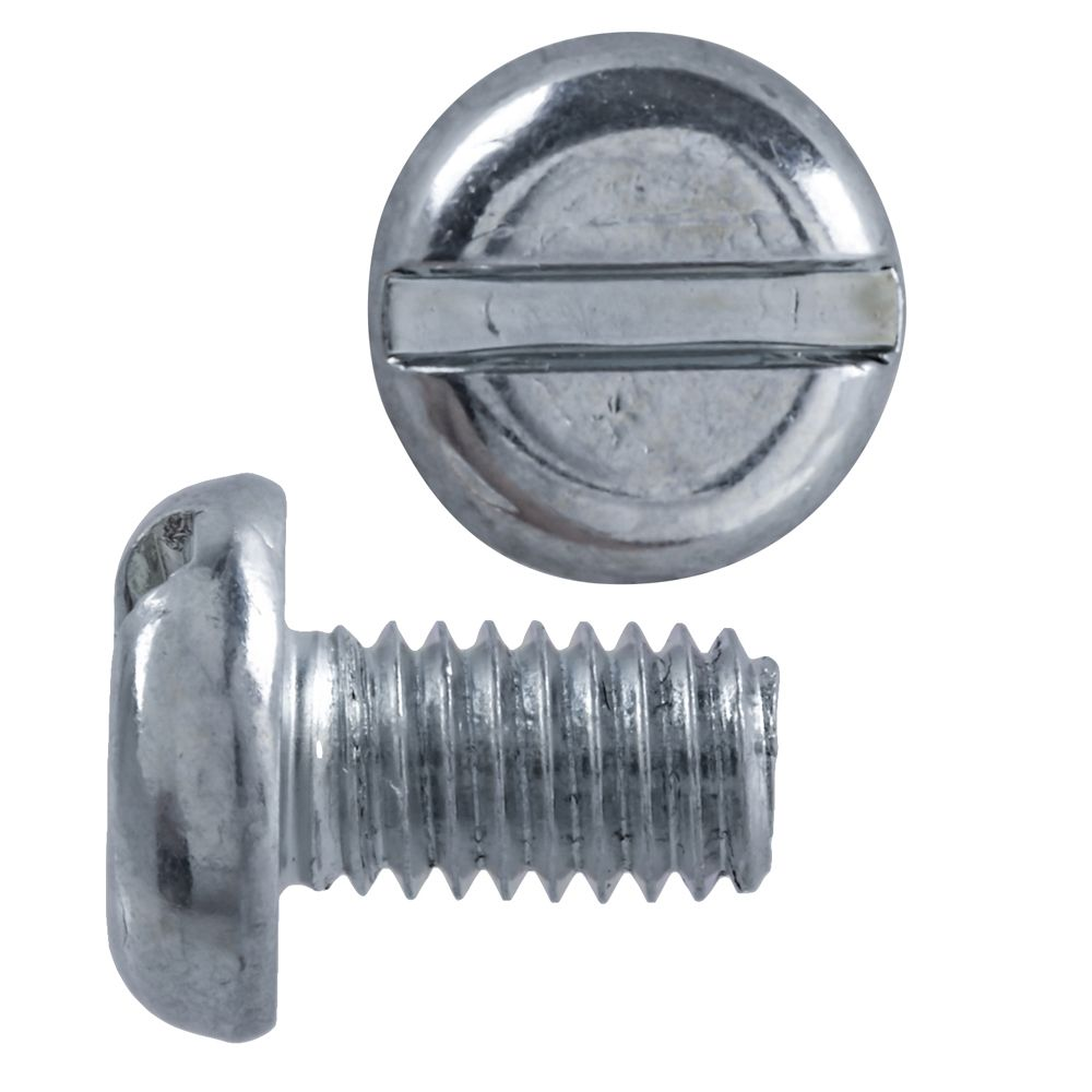 M6X10 Metric Pan Slot Hd Mach Screw