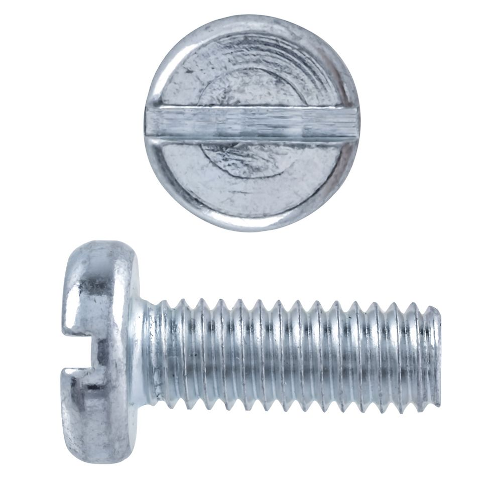 M6X16 Metric Pan Slot Hd Mach Screw