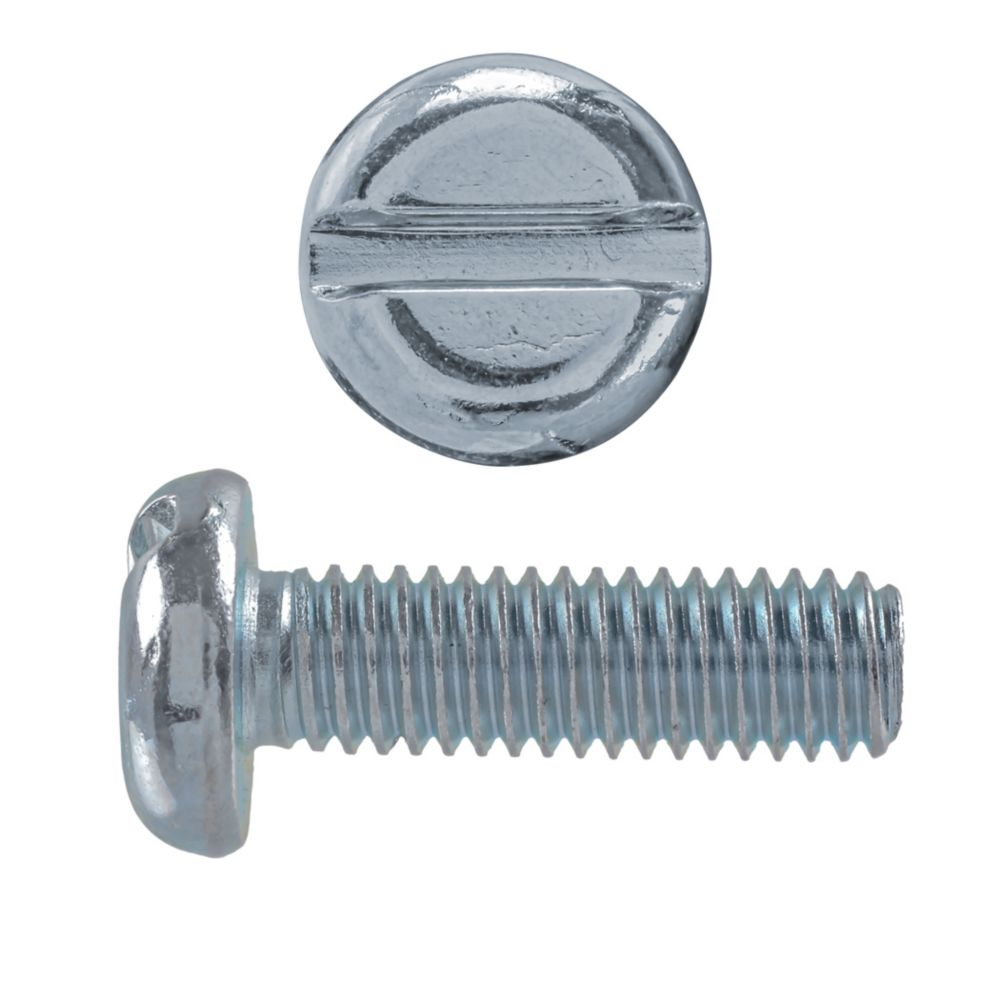 M6X20 Metric Pan Slot Hd Mach Screw