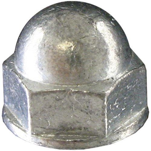 Paulin 10-32 Steel-Acorn (Cap) Hex Nut - Zinc Plated