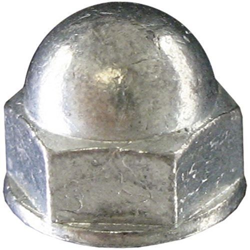 Paulin 3/8-inch-16 Steel-Acorn (Cap) Hex Nut - Zinc Plated