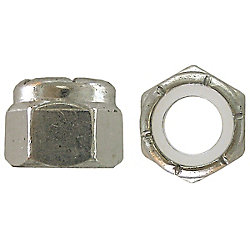Paulin 10-24 Nylon Insert Stop Nut - Pozi-Lok - Zinc Plated - UNC