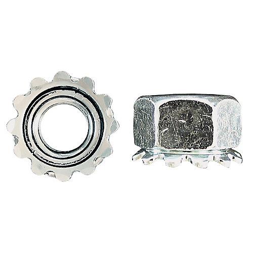 1/4-inch-20 Keps Lock Nut - Zinc Plated