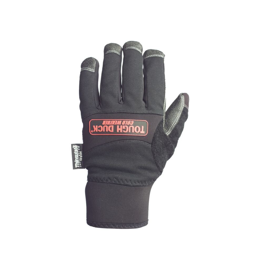 Precision Fit 40 Gram Thinsulate Glove Black Large
