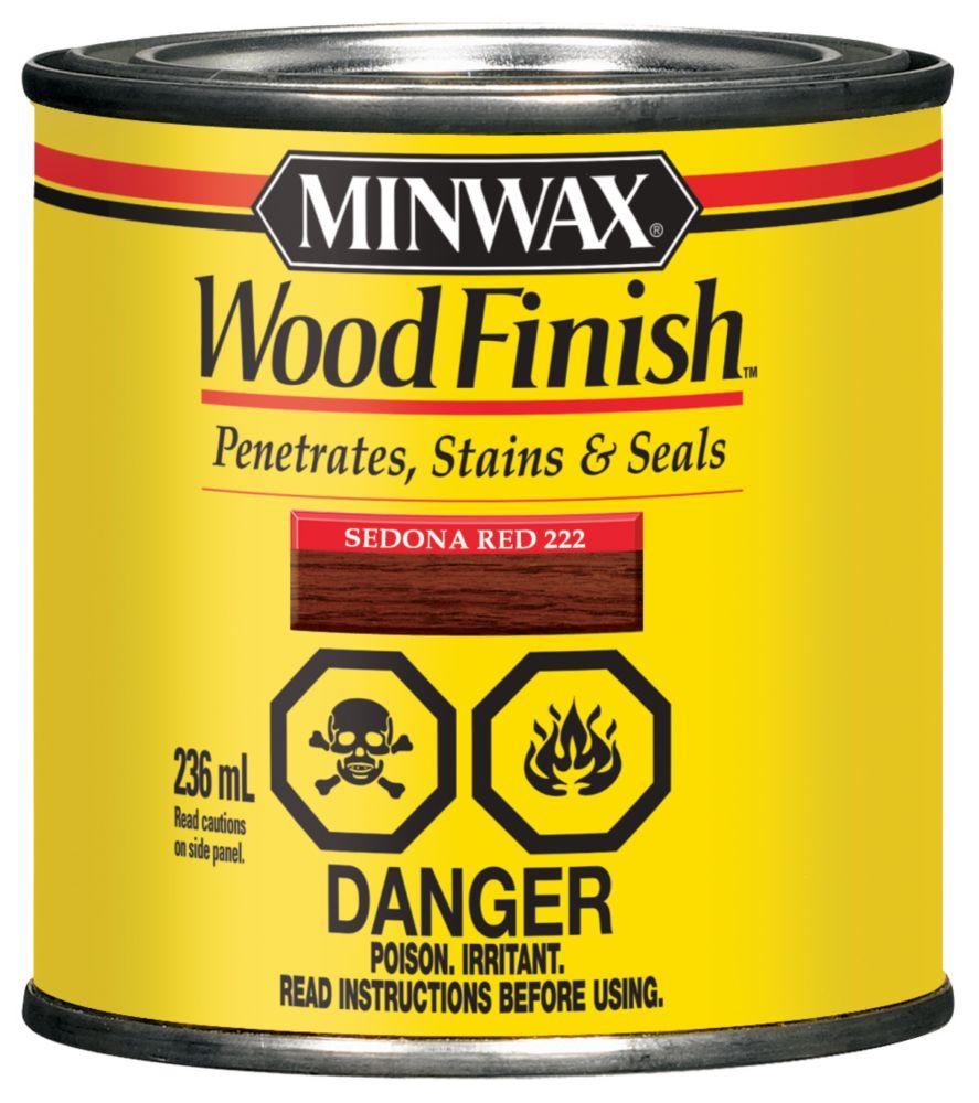 Wood Finish - Sedona Red
