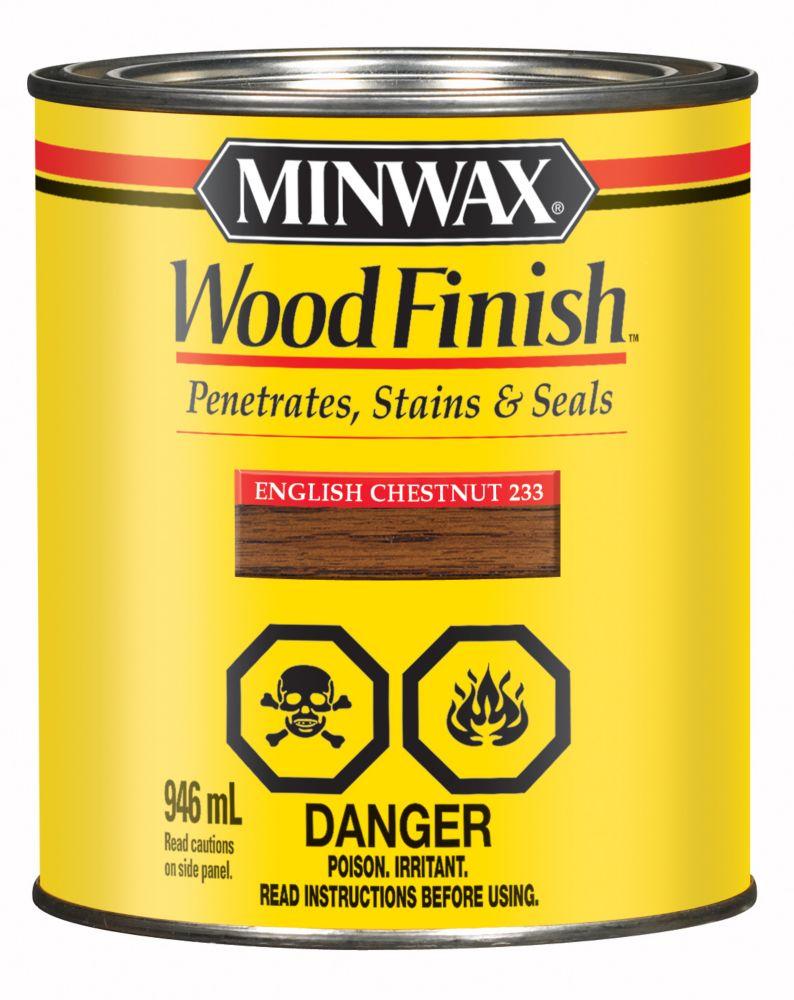 Wood Finish - English Chestnut, 946ml