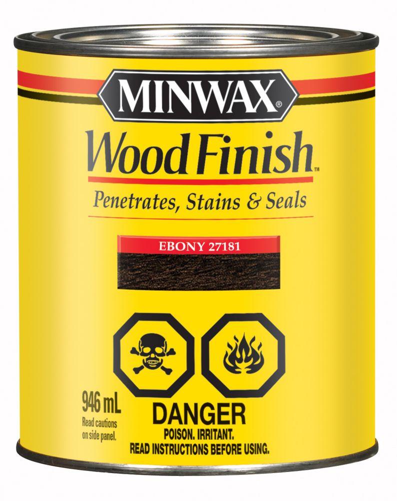 Wood Finish - Ebony