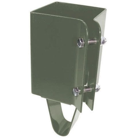 Post Holder Concrete Set, 4 Inch x 4 Inch - Khaki Finish