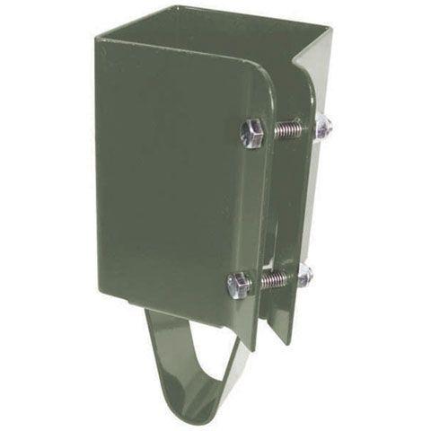 Post Holder Concrete Set, 4 Inch x 4 Inch - Khaki Finish