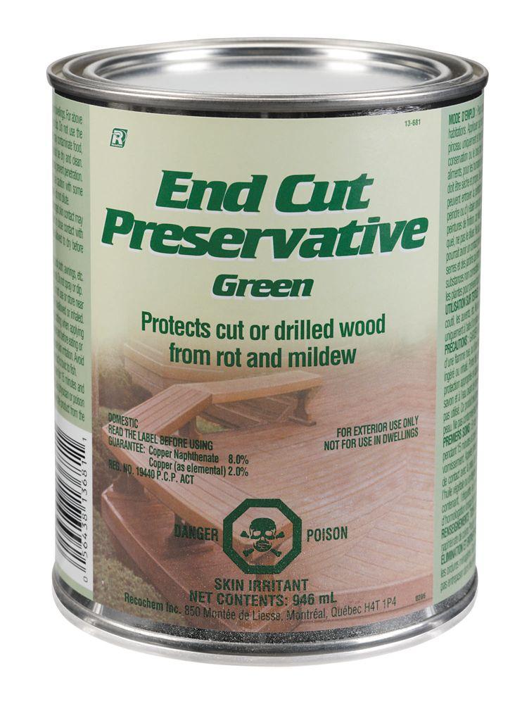 End Cut Preservative - Green - 946 ml