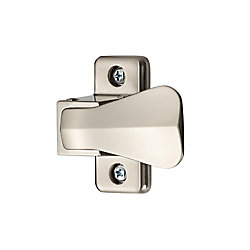 Ideal Security Inside Latch with Strike (Brushed Chrome