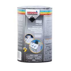 RESISTO Multipurpose Waterproofing Membrane - AluFor Metal Roofs, Sidings And Other Metal Surfaces