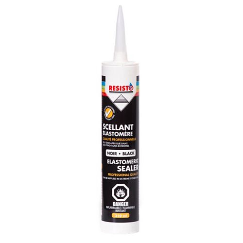 RESISTO Elastomeric Sealer - Black 310 Ml