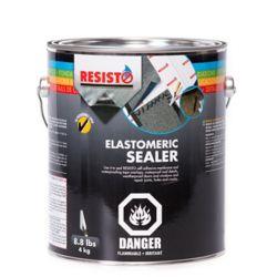 RESISTO Scellant élastomère, 4 kgs, noir