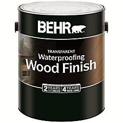 BEHR Fini Imperméabilisant pour Bois - Séquoia, 3,79L