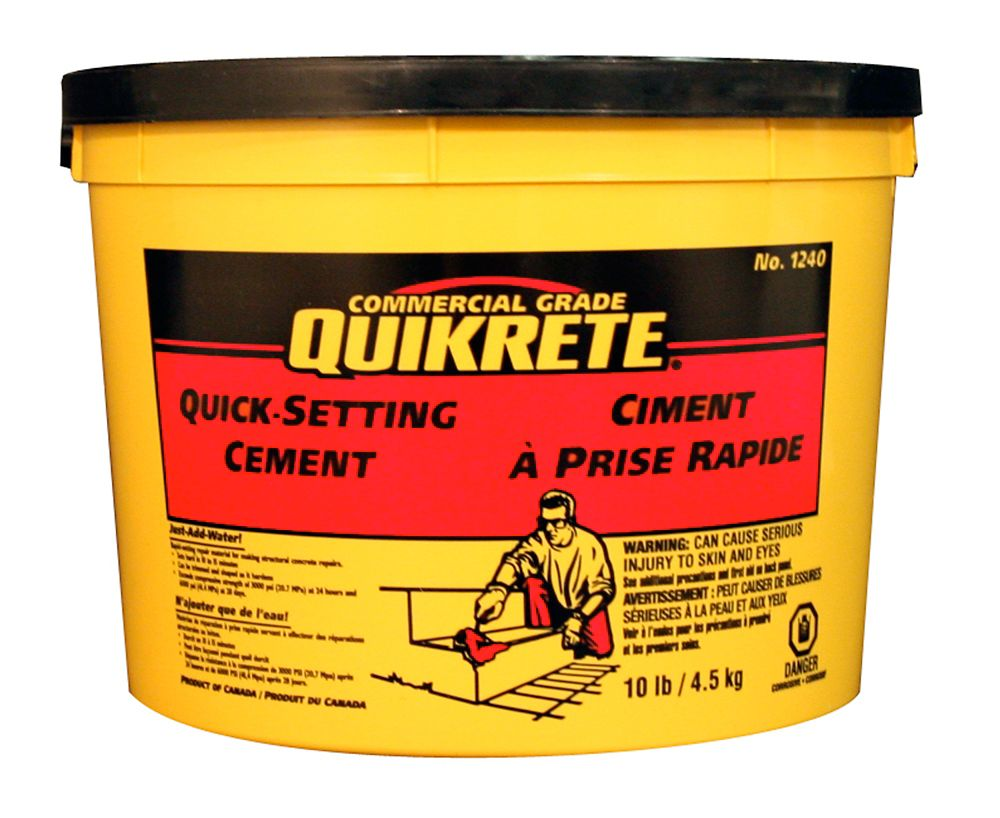 Quick Setting Cement : Quikrete quick setting cement kg the home depot canada