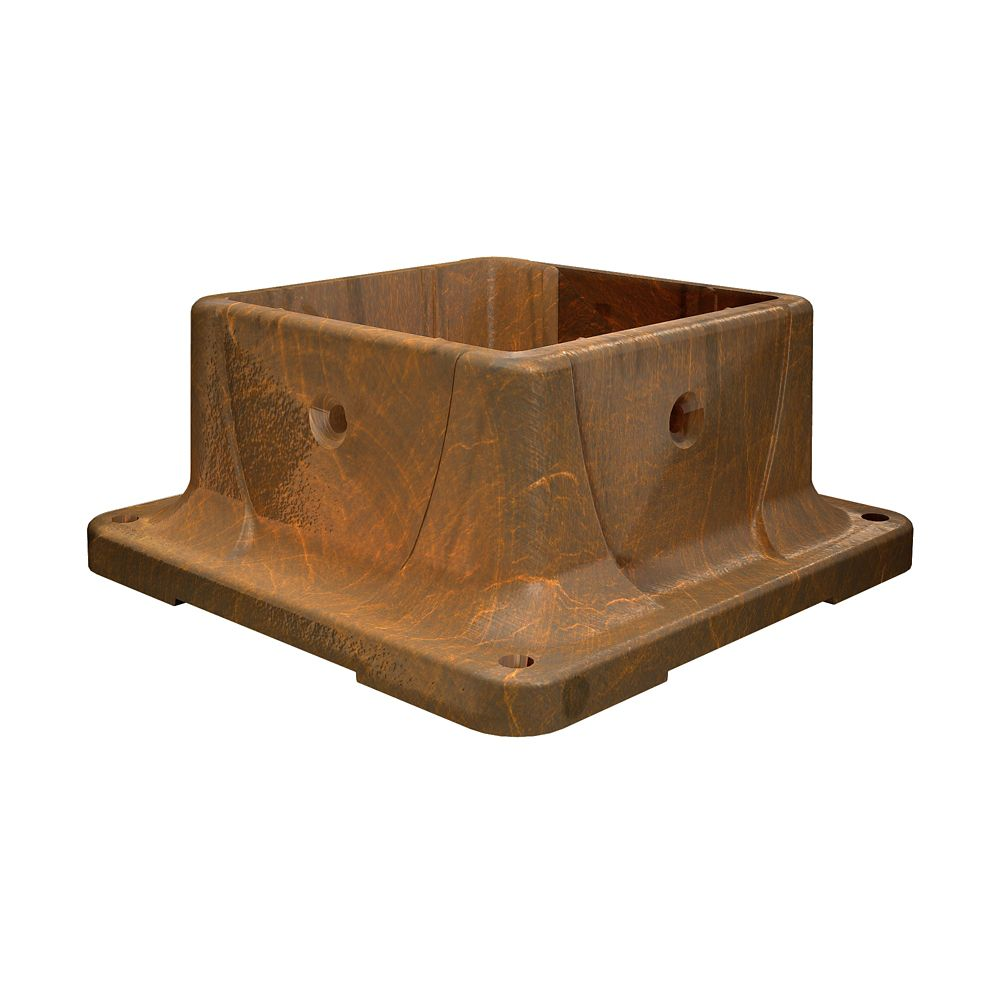 Post Anchor in Redwood (4 in. x 4 in.)