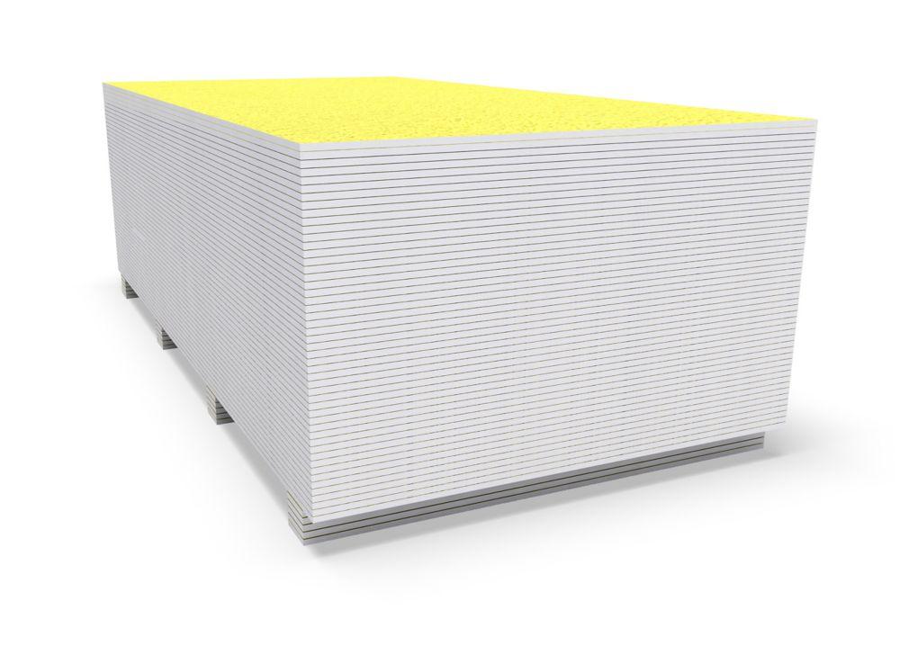 1/2 Inch x 4 Foot x 8 Foot Fiberglass Mat Tile Backer