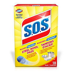 S.o.s. Steel Wool Soap Pads (18-Pack)