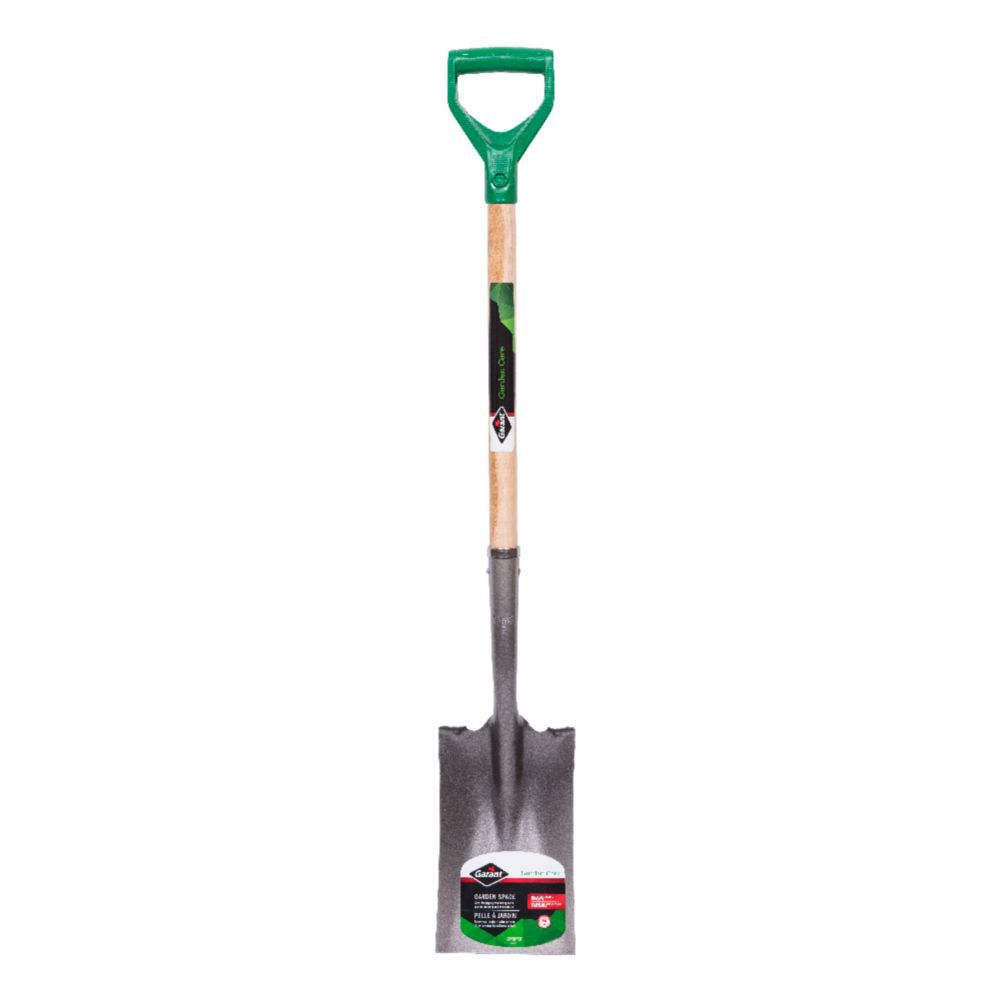 Garant Garden Care Tempered Steel Garden Spade, Forward Steps, D-Grip