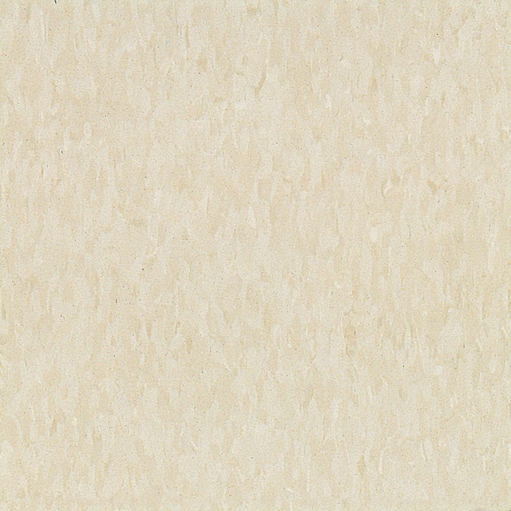 Imperial Texture 12-inch x 12-inch Vinyl Tiles in Antique White (45 Pack)