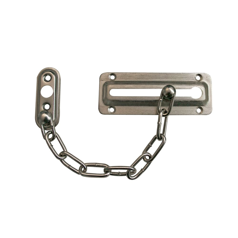 Satin Nickel Chain Door Guard