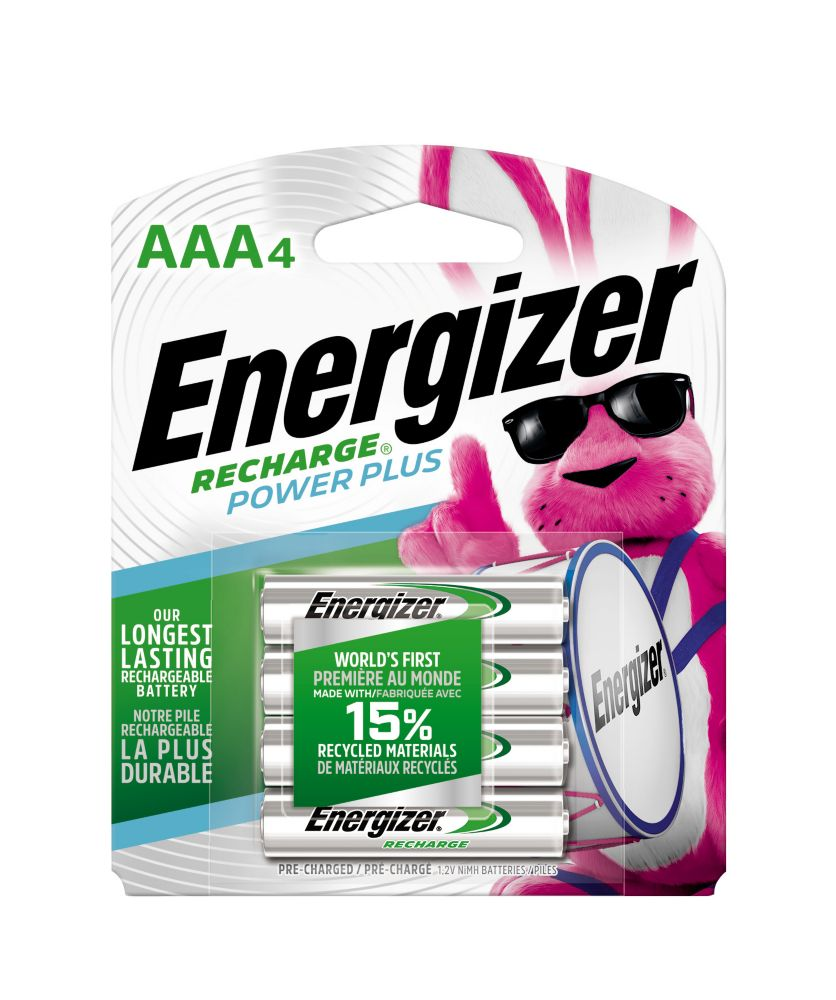 Rechargeable AAA Battery - 4 Pack