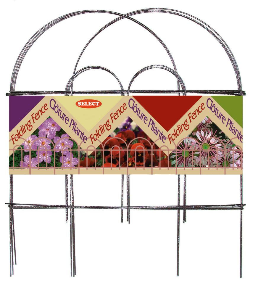 Select Decor Fence - 18 In. x 8 Ft. bronze