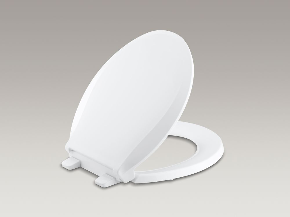 Cachet Quiet-Close Round-Front Toilet Seat, White K-4639-0 Canada Discount