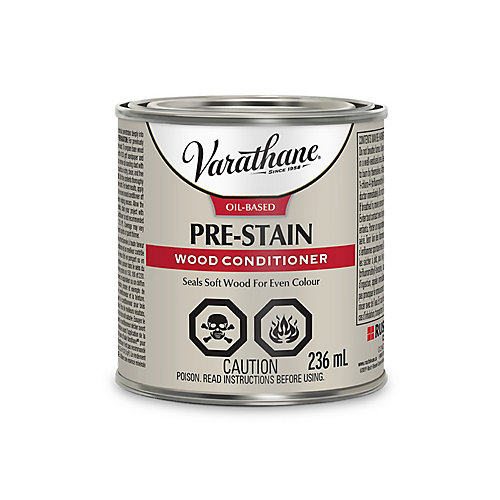 Oil-Based Pre-Stain Wood Conditioner For Interior , 236 Ml