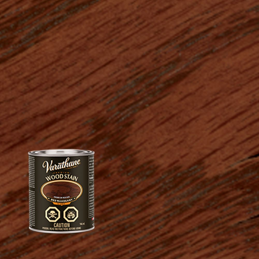 Teinture pour bois premier - Acajou rouge (Base d'huile) (946ml)