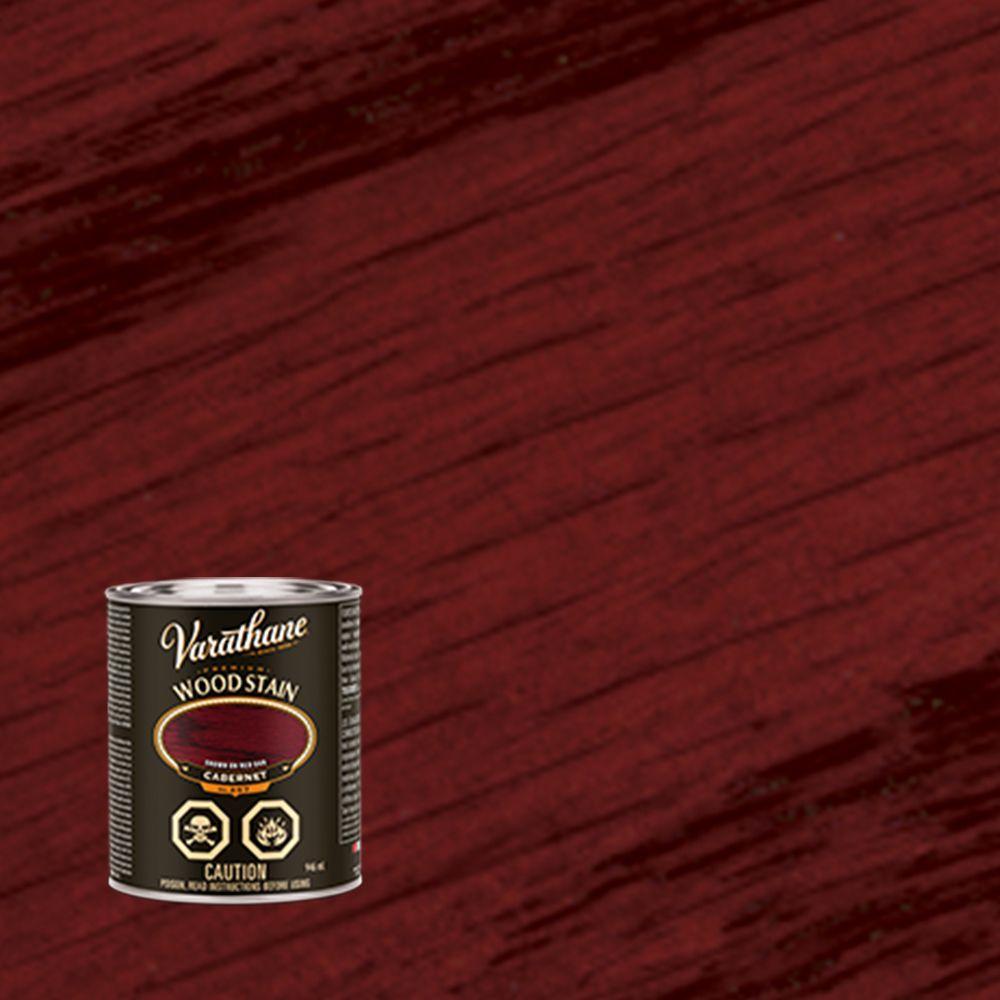 Teinture pour bois premier - Cabernet (Base d'huile) (946ml)