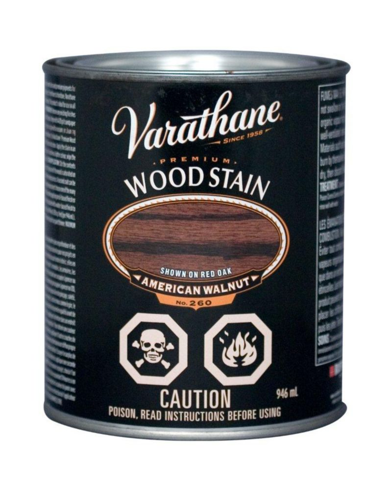 Premium Stain - American Walnut (Oil Based) (946ml)