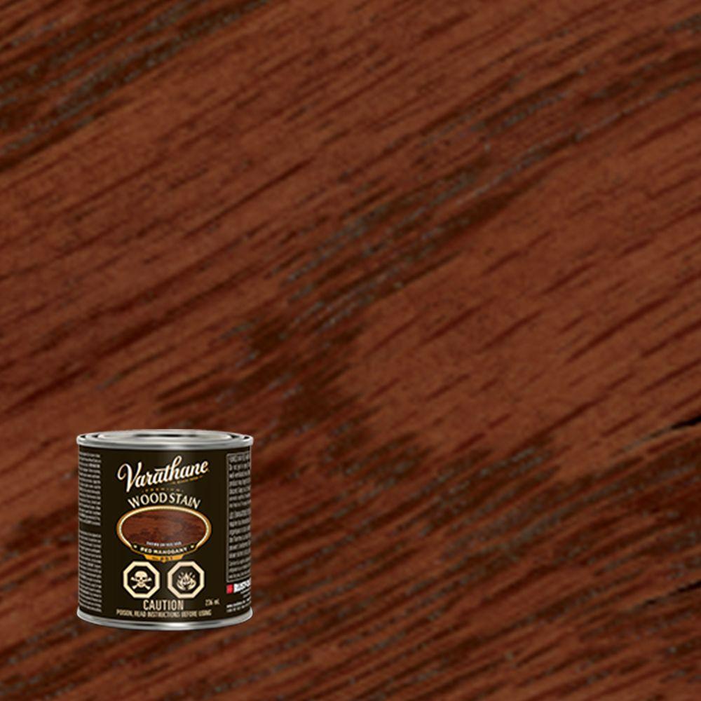 varathane teinture pour bois premier acajou rouge base d 39 huile 236ml home depot canada. Black Bedroom Furniture Sets. Home Design Ideas