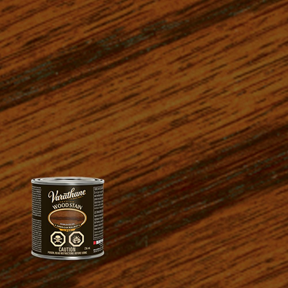 Premium Stain - American Walnut (Oil Based) (236ml)