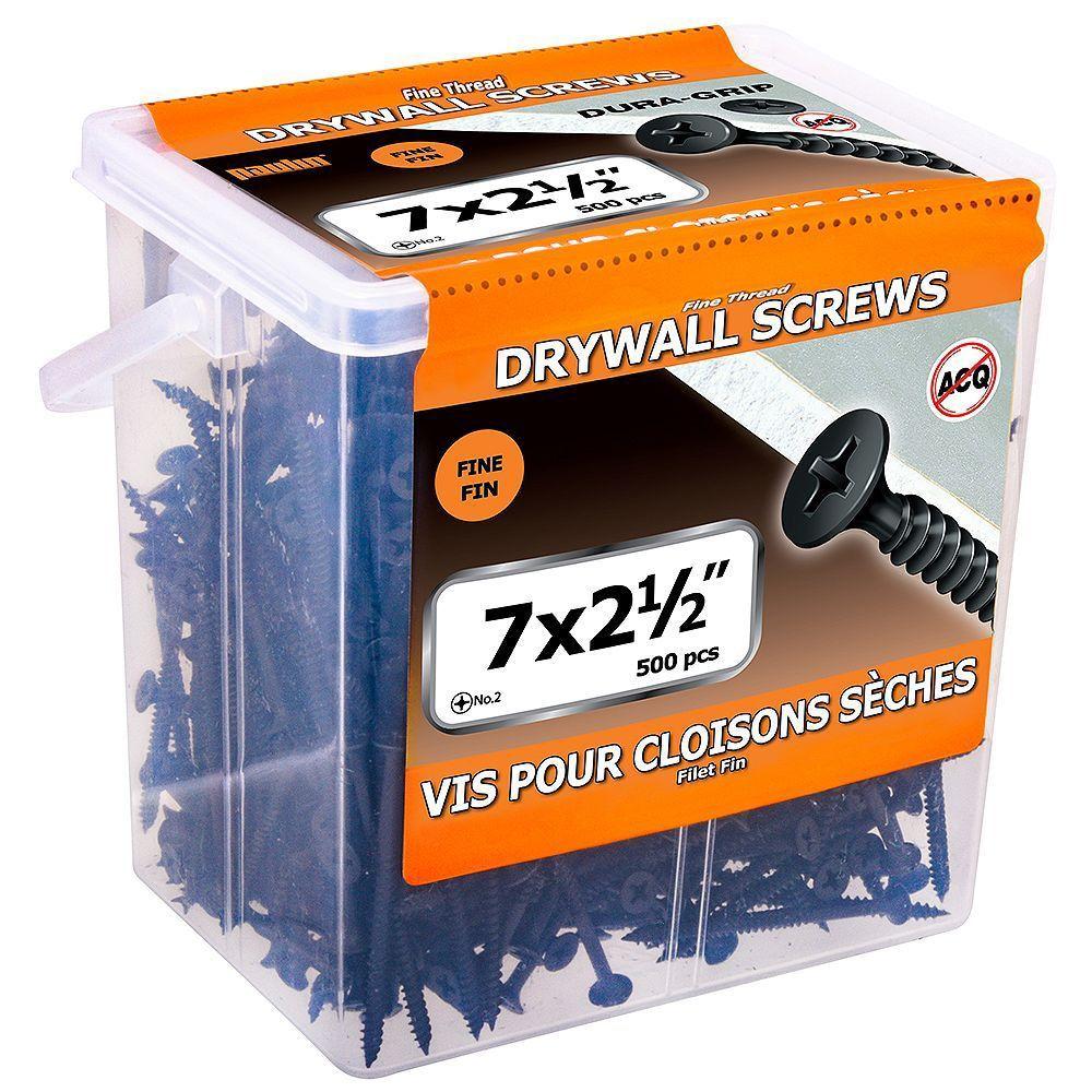 Papc7x2 1/2Fine Dwall Screw 500