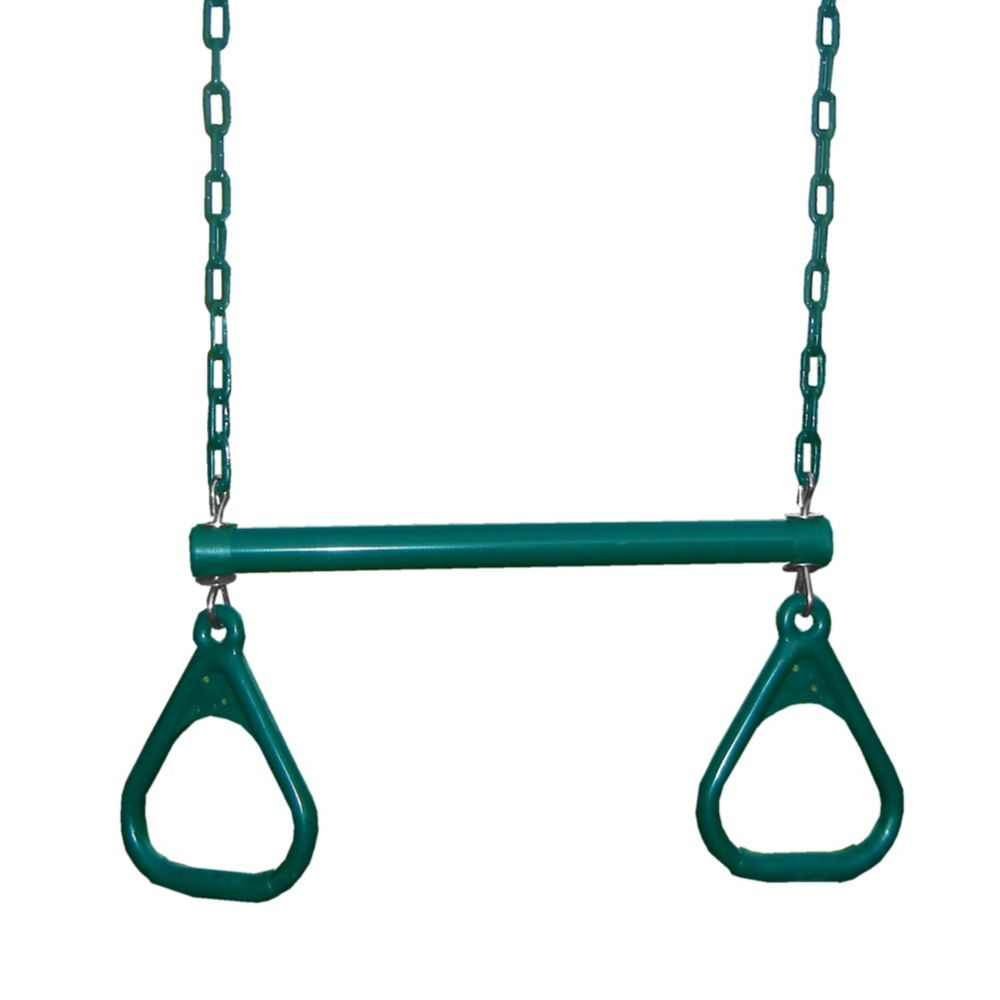 19-inch heavy duty Trapeze Bar with Rings