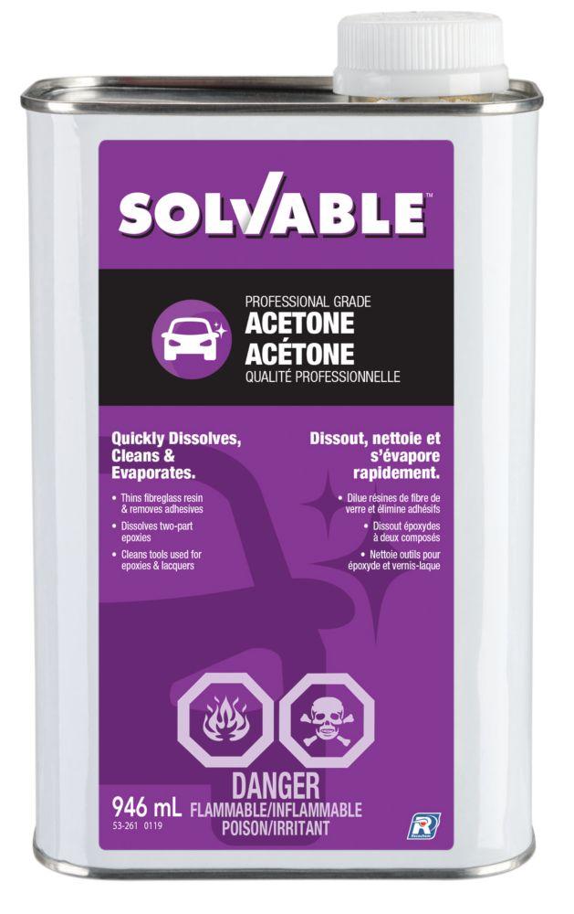 Recochem Acetone - 946 ml