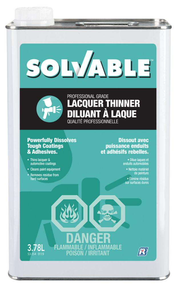 Lacquer Thinner - 3.78 L