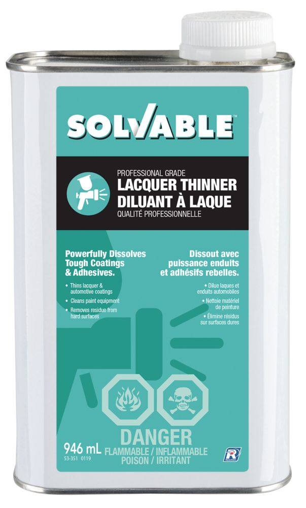Recochem Lacquer Thinner - 946 ml
