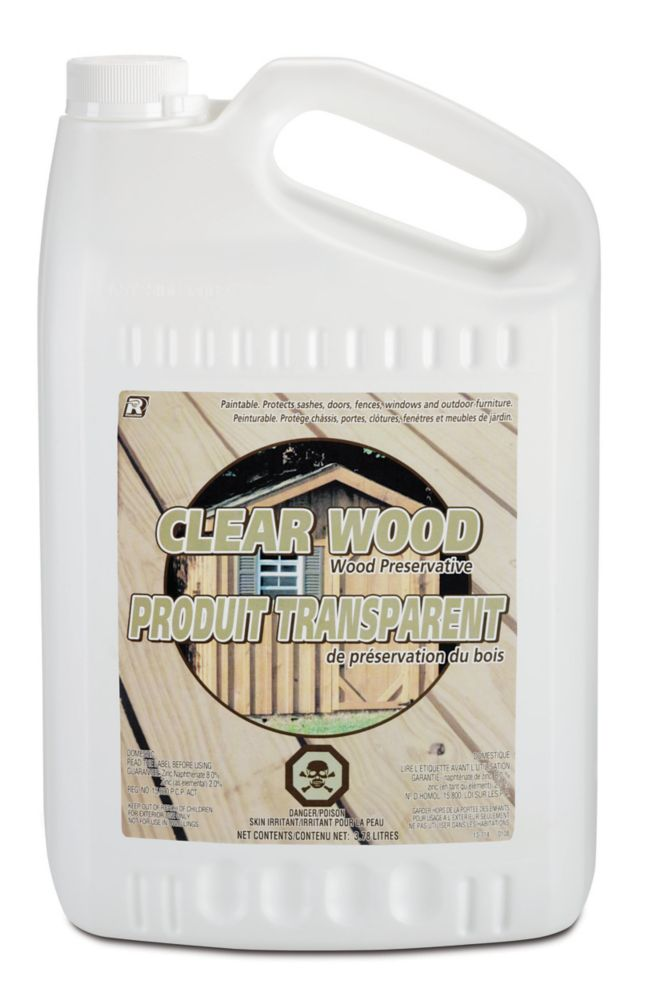 Recochem Clear Wood Preservative L The Home Depot Canada