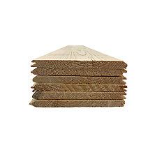 Lambris pin noueux 8 pi v-joint avec rainure et languette - 5/16