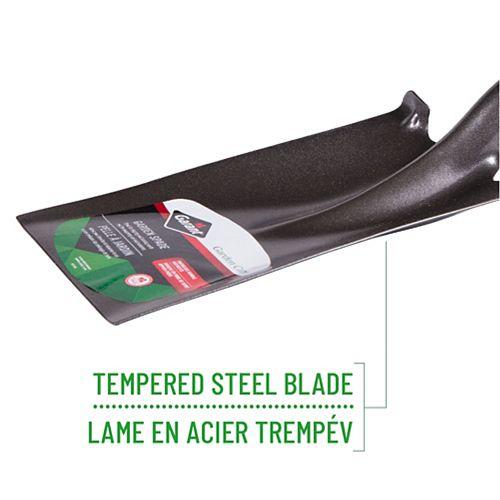 Garant Garden Care Tempered Steel Garden Spade, Hollow Back, Forward Steps, Fibreglass Handle, D-Grip