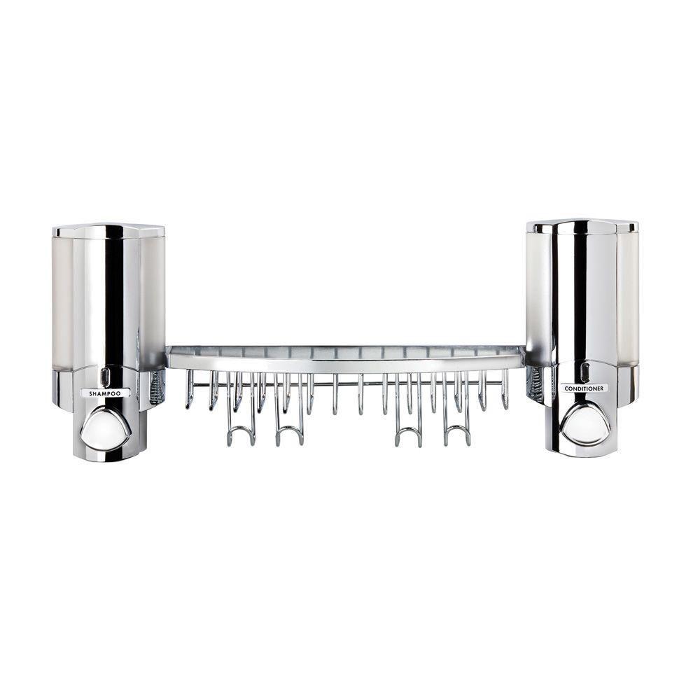 Aviva Aviva Dispenser Shower Basket in Chrome