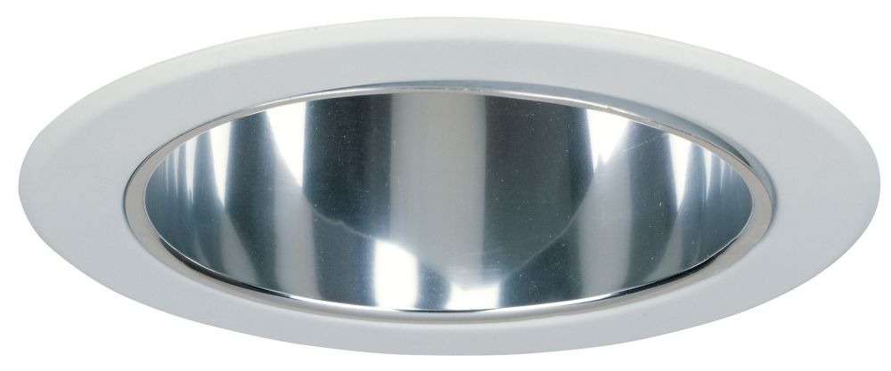 Commercial Electric 5 In. Reflector Cone- Specular Clear