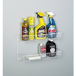 Rubbermaid 2 Tier Door/Wall Rack