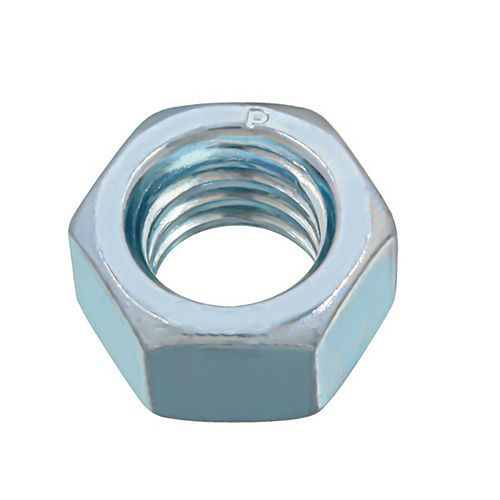 Paulin 3/8-inch -16 Finished Hex Nut - Zinc Plated - Grade 2 - UNC