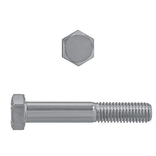 1/2-inch-13 x 3-inch 18.8 Stainless Steel Hex Head Cap Screw - UNC