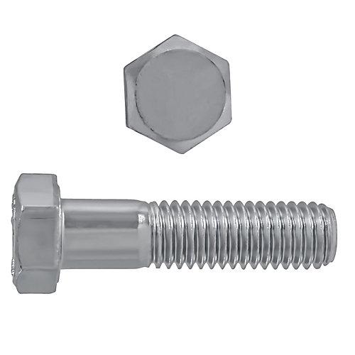 Vis à tête hexagonale 1/2 po-13 x 2 po en acier inoxydable 18.8 - UNC