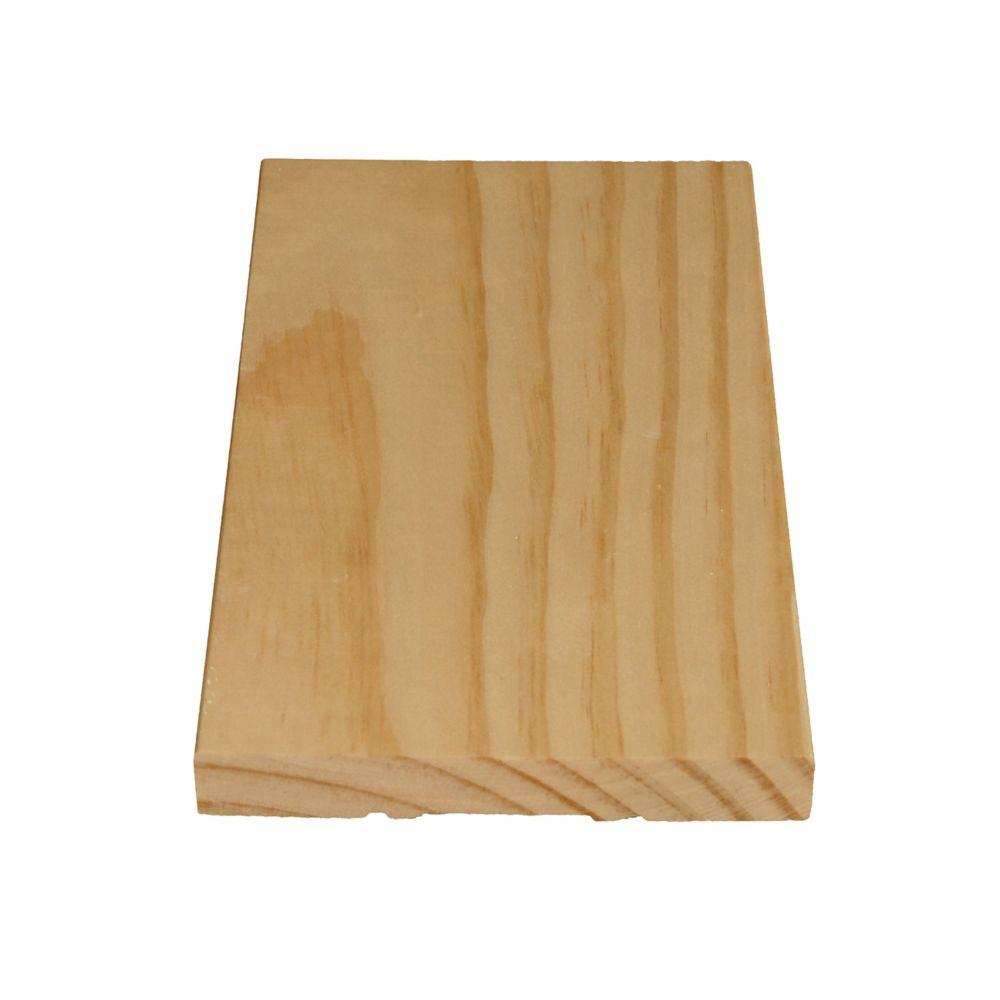 Solid Clear Pine Door Jamb 9/16 In. x 4-5/8 In. - 36 In. Header